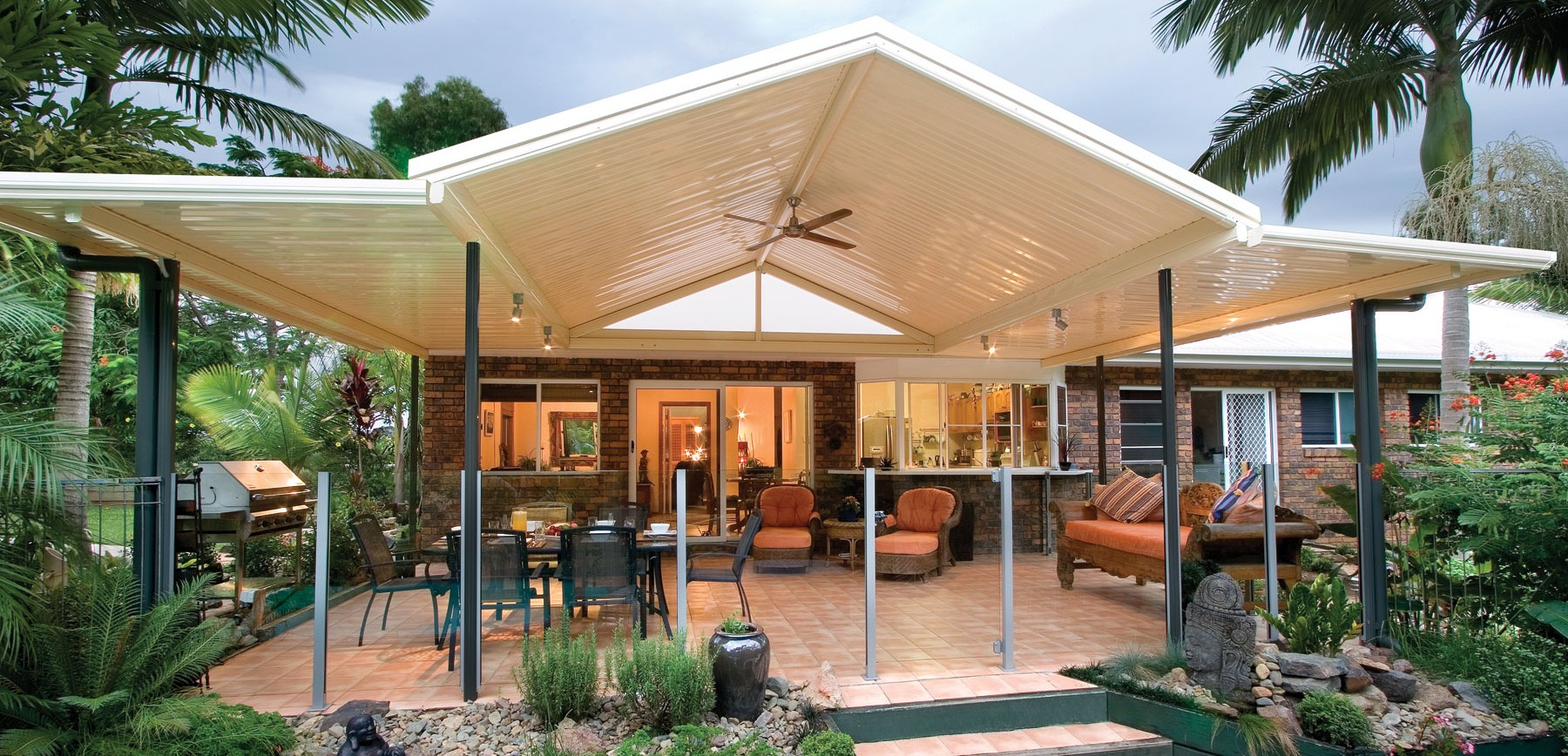 Build A Garden Trellis Multispan Gable Melbourne Stratco Geelong Verandah