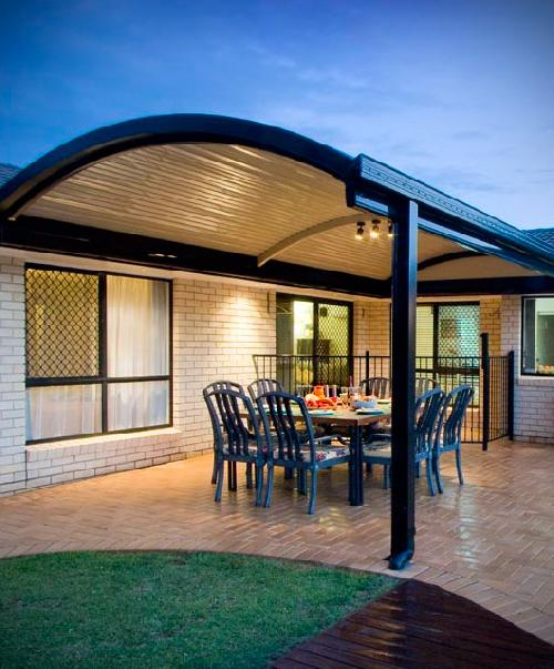 Metal Carport Curved : Outback curved stratco geelong verandahs melbourne