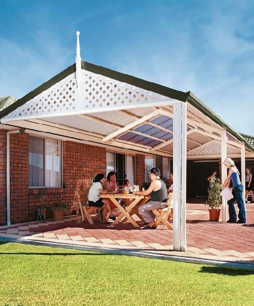 Traditional Gable Pergola Geelong Melbourne Hoppers